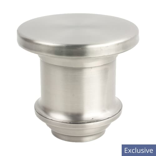 CANDLESTICK FINIAL 3 PEWTER